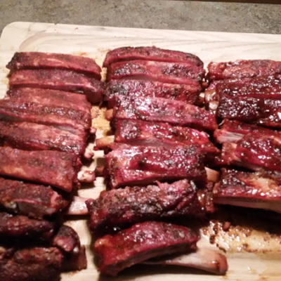 PoMan Gill Baby Backed Ribs